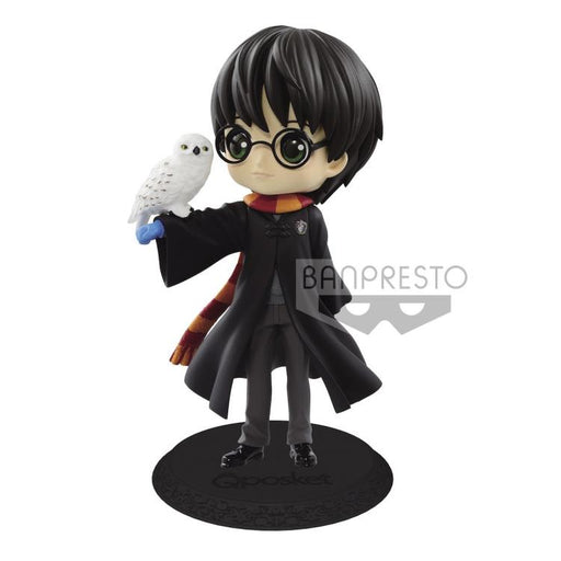 Banpresto Q Posket: Harry Potter - Harry Potter with Hedwig (A. Normal Color)