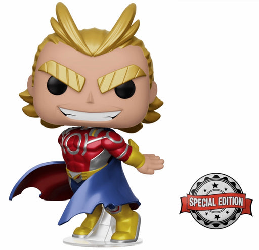 [PRE-ORDER] Funko POP! My Hero Academia - Metallic All Might (Silver Age) Vinyl Figure Special Edition Exclusive [READ DESCRIPTION]