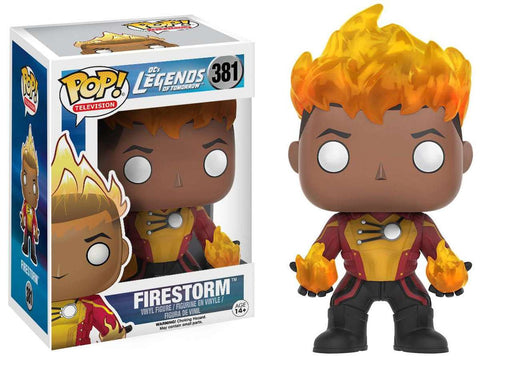 Funko POP! DC: Legends of Tomorrow - Firestorm Vinyl Figure #381