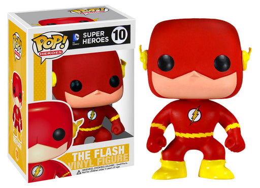 Funko POP! DC Super Heroes - The Flash Vinyl Figure #10