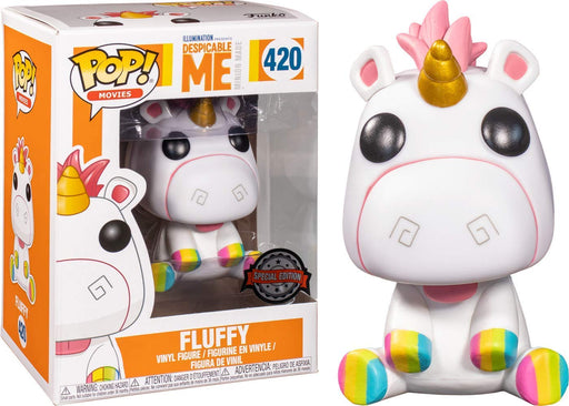 Funko POP! Despicable Me - Fluffy Vinyl Figure #420 Special Edition Exclusive [READ DESCRIPTION]