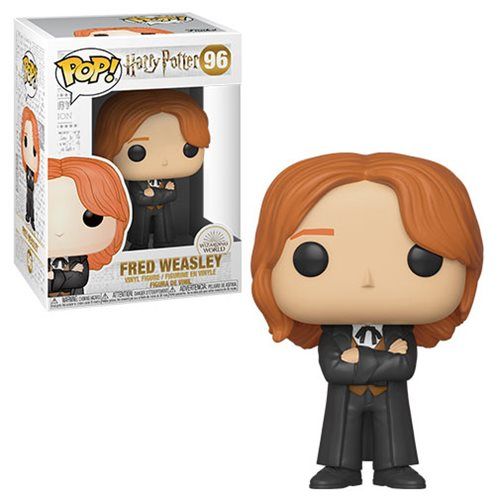 Funko POP! Harry Potter S8 - Fred Weasley (Yule) Vinyl Figure #96