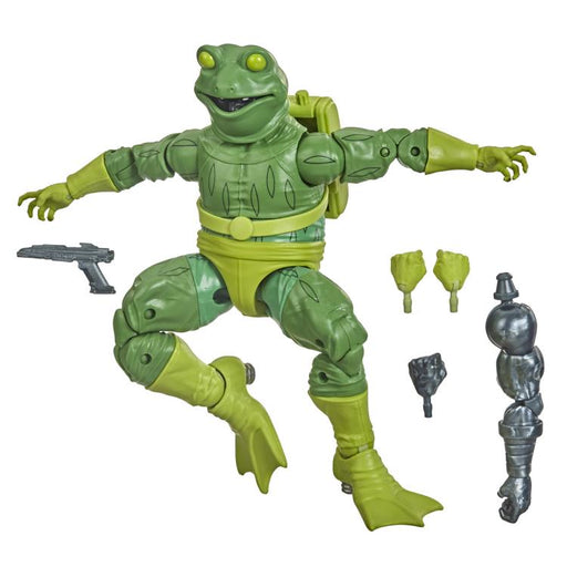 Spider-Man Marvel Legends - Frog-Man 6-Inch Action Figure (Stilt-Man Build-A-Figure)