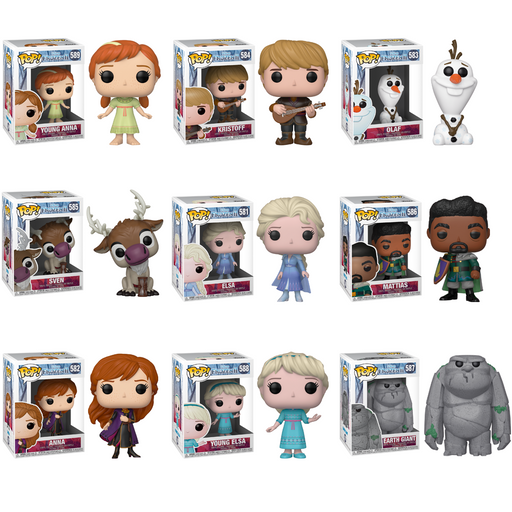 [PRE-ORDER] Funko POP! Frozen 2 - Set of 9