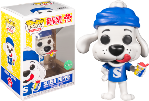 Funko POP! Ad Icons: Slush Puppie - Slush Puppie (Scented) Vinyl Figure #106 Special Edition Exclusive [READ DESCRIPTION]