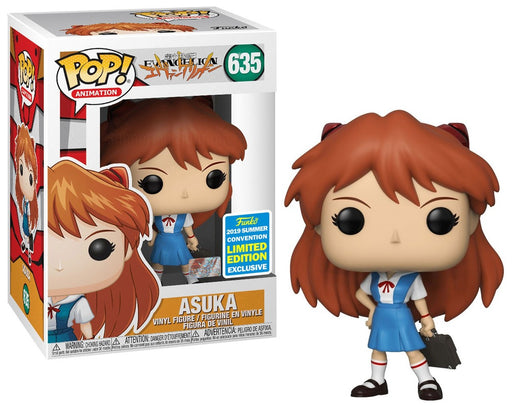 Funko POP! Evangelion - Asuka Vinyl Figure #635 2019 Summer Convention Exclusive (NOT 100% MINT)