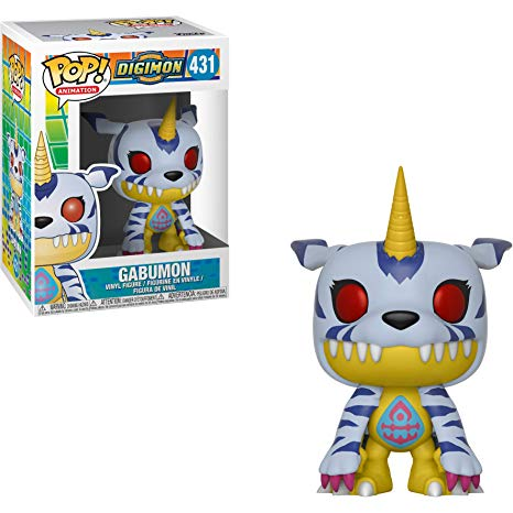 Funko POP! Digimon - Gabumon Vinyl Figure #431