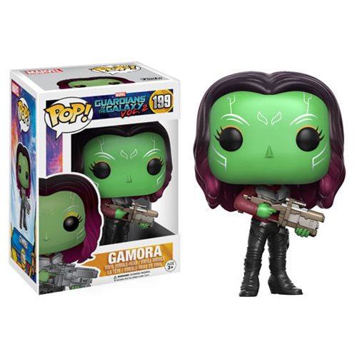 Funko POP! Guardians of the Galaxy Vol. 2 - Gamora Vinyl Figure #199