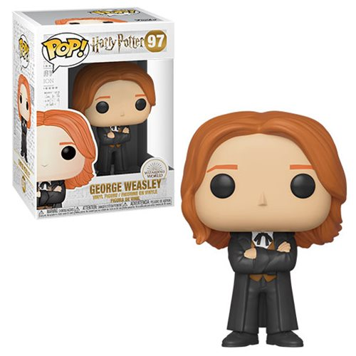 Funko POP! Harry Potter S8 - George Weasley (Yule) Vinyl Figure #97