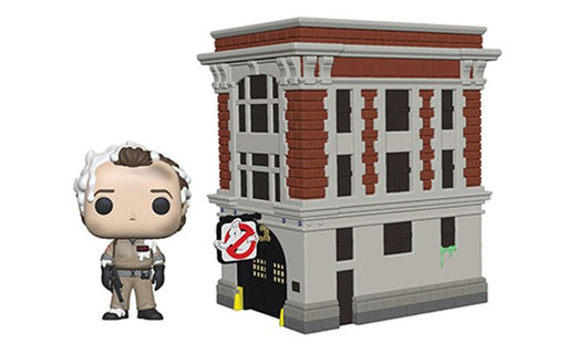 Funko POP! Town: Ghostbusters - Peter and House Vinyl Figure