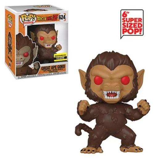 Funko POP! Dragon Ball Z- Great Ape Goku 6-Inch Vinyl Figure #624 Entertainment Earth Exclusive [READ DESCRIPTION]