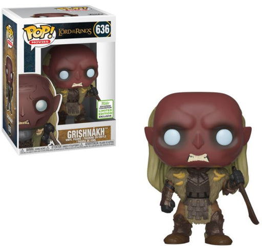 Funko POP! Lord of the Rings - Grishnakh Vinyl Figure #636 2019 Spring Convention Exclusive (NOT 100% MINT)
