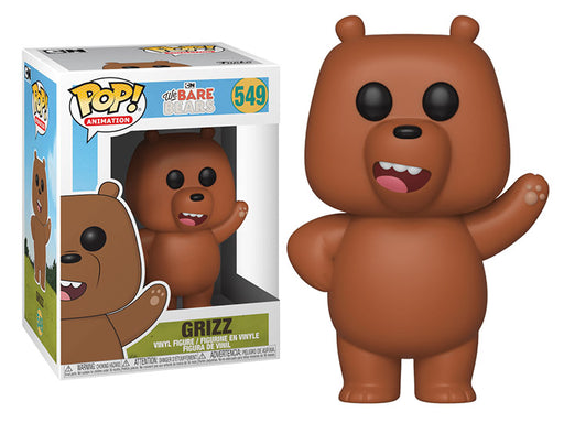 Funko POP! We Bare Bears - Grizz Vinyl Figure #549