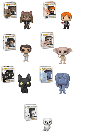 Funko POP! Harry Potter - Season 6 Complete Set of 7
