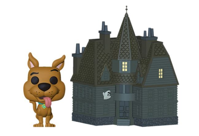 Funko POP! Town: Scooby Doo - Scooby Doo and Haunted Mansion Vinyl Figure