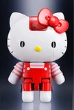 Tamashii Nations Chogokin: Hello Kitty - Hello Kitty (Red Stripe Ver.) Figure