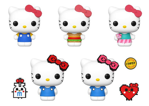 [PRE-ORDER] Funko POP! Sanrio: Hello Kitty - Set of 5 Chase Included