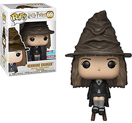 Funko POP! Harry Potter - Hermione Granger Vinyl Figure #69 2018 Fall Convention Exclusive (NOT 100% MINT)