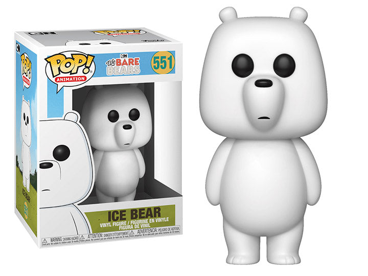 Funko POP! We Bare Bears - Ice Bear Vinyl Figure #551