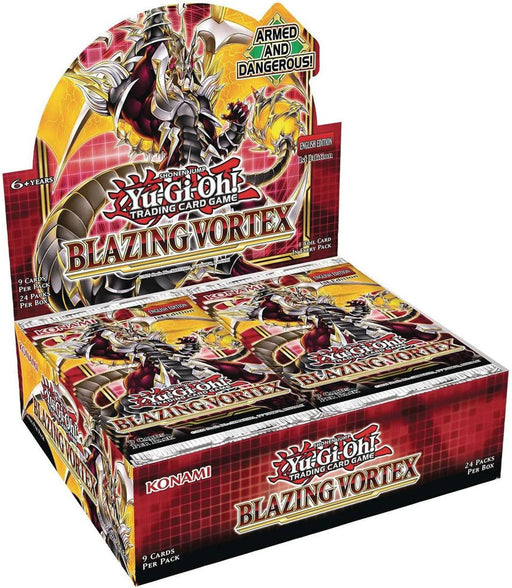 Yu-Gi-Oh! Trading Card Game: Blazing Vortex Booster Box