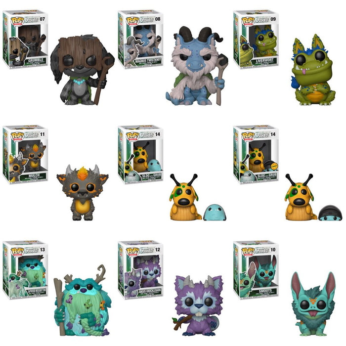 Funko POP! Wetmore Forest Monsters - Complete Set of 9 Chase Included (New Monster)
