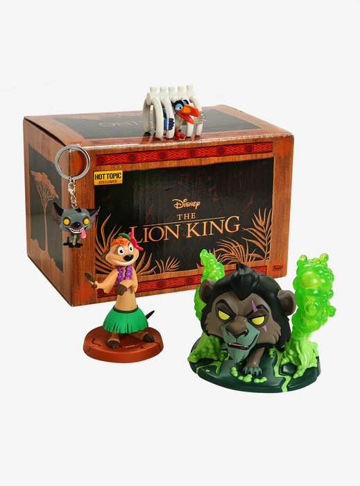 Funko POP! The Lion King - Disney Treasures The Lion King Box Hot Topic Exclusive (NOT 100% MINT)