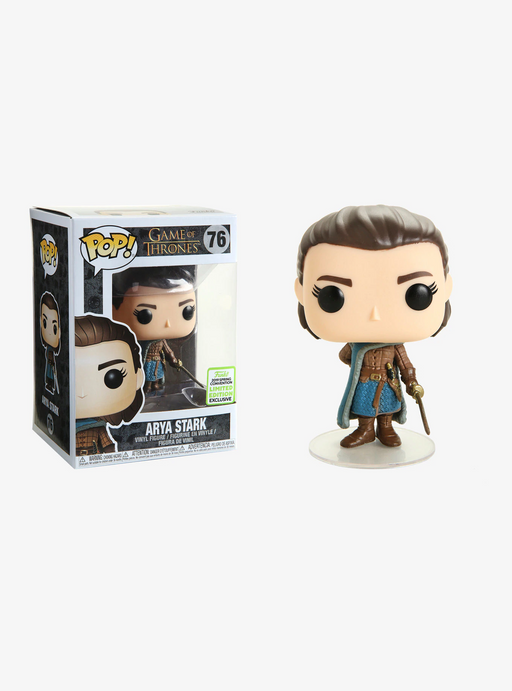 Funko POP! Game of Thrones - Arya Stark Assassin Vinyl Figure #76 2019 Spring Convention Exclusive (NOT 100% MINT)