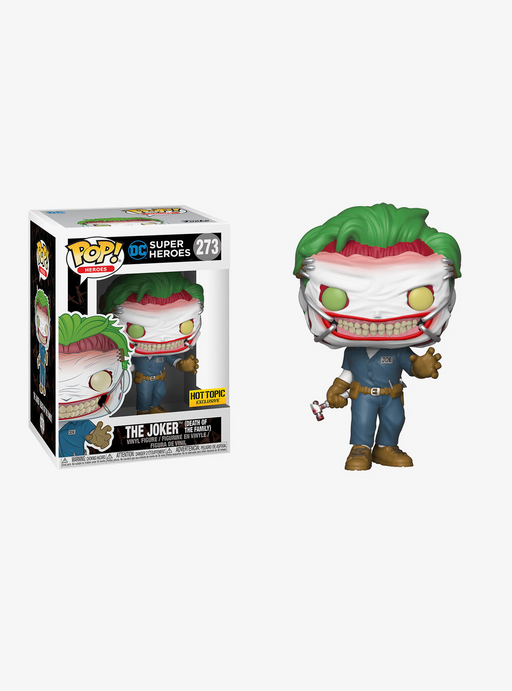 Funko POP! Batman - Joker (Death Of The Family) Vinyl Figure #273 Hot Topic Exclusive (NOT 100% MINT)