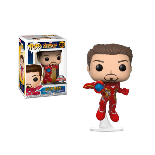 Funko POP! Marvel: Avengers Infinity War - Iron Man (Unmasked) Vinyl Figure #304 Special Edition Exclusive [READ DESCRIPTION]