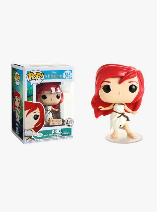 Funko POP! The Little Mermaid - Ariel Vinyl Figure #545 Box Lunch Exclusive (NOT 100% MINT)