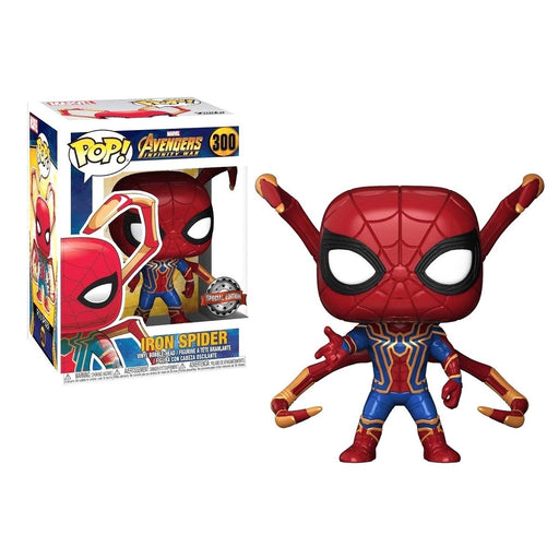 Funko POP! Avengers: Infinity War - Iron Spider with Spider Legs Vinyl Figure #300 Special Edition Exclusive [READ DESCRIPTION]