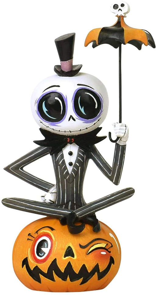 The World of Miss Mindy - Nightmare Before Christmas- Jack Skellington on Pumpkin Vinyl Figure