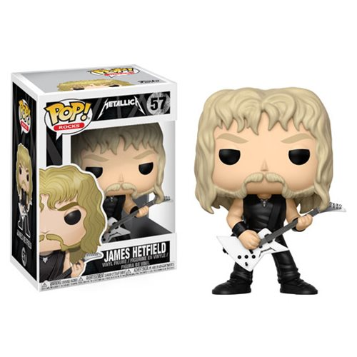 Funko POP! Rocks - Metallica: James Hetfield Vinyl Figure #57
