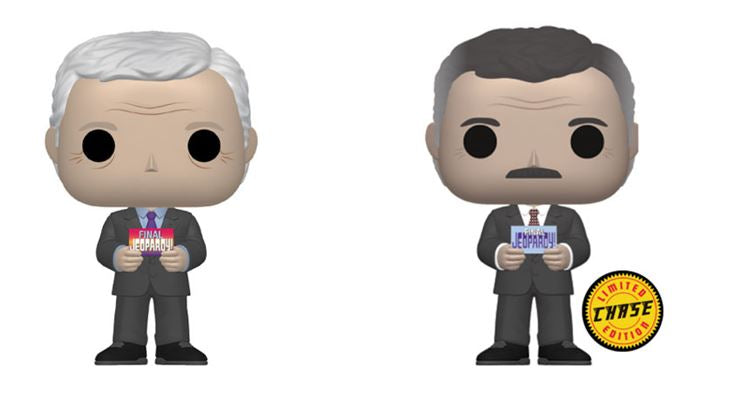 Funko POP! Jeopardy - Complete Set of 2 Chase Included