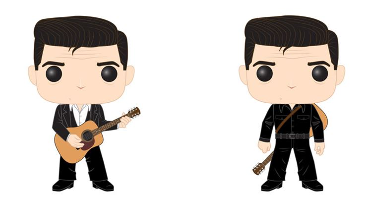 Funko POP! Rocks - Johnny Cash Complete Set of 2