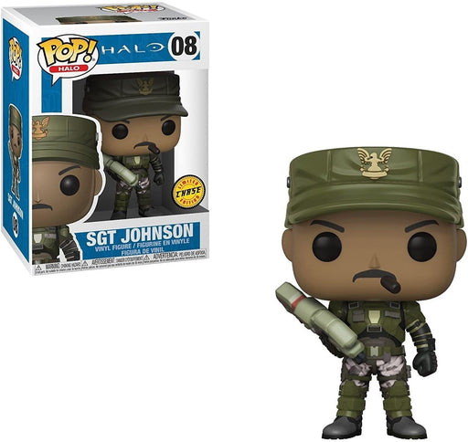 Funko POP! Halo - Sgt. Johnson Chase Vinyl Figure #8