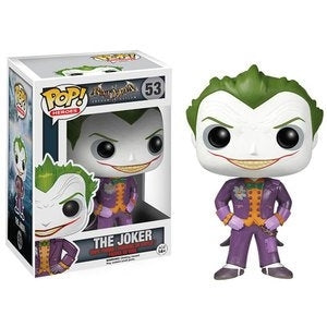 Funko POP! Batman Arkham Asylum - The Joker Vinyl Figure #53