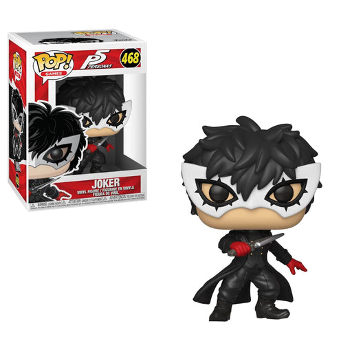 Funko POP! Persona 5 - Joker Common Vinyl Figure #468