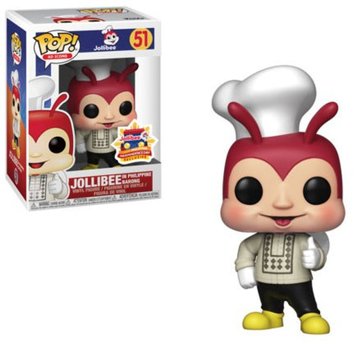 Funko POP! Ad Icons - Jollibee in Philippine Barong Vinyl Figure #51 2019 Philippine Independence Day Exclusive (NOT 100% MINT)