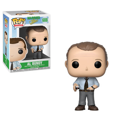 Funko POP! Married with Children - Al Bundy with Remote Vinyl Figure #688