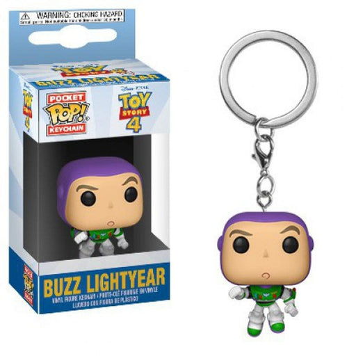 Funko POP! Keychain: Toy Story 4 - Buzz Lightyear Pocket Keychain