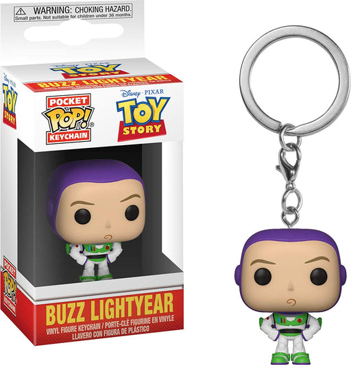 Funko POP! Keychain: Toy Story - Buzz Pocket Keychain