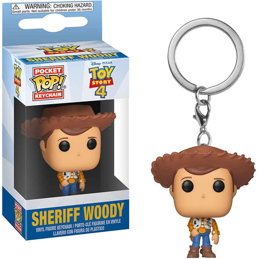 Funko POP! Keychain: Toy Story 4 - Sheriff Woody Pocket Keychain