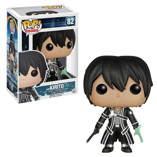 Funko POP! Sword Art Online - Kirito Vinyl Figure #82