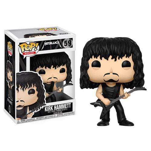 Funko POP! Rocks - Metallica: Kirk Hammett Vinyl Figure #59