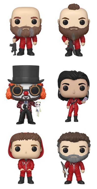 Funko POP! Money Heist (La Casa De Papel) - Wave 2 Set of 6