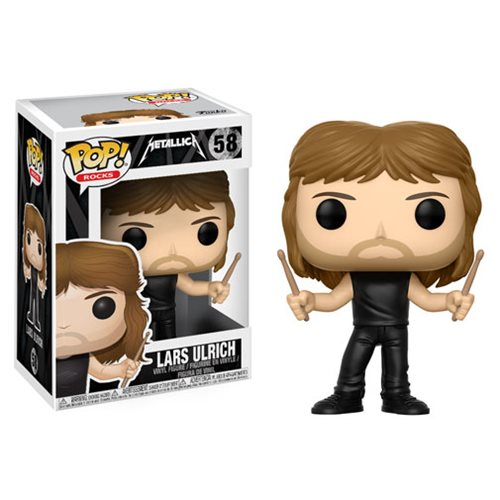 Funko POP! Rocks - Metallica: Lars UIrich Vinyl Figure #58