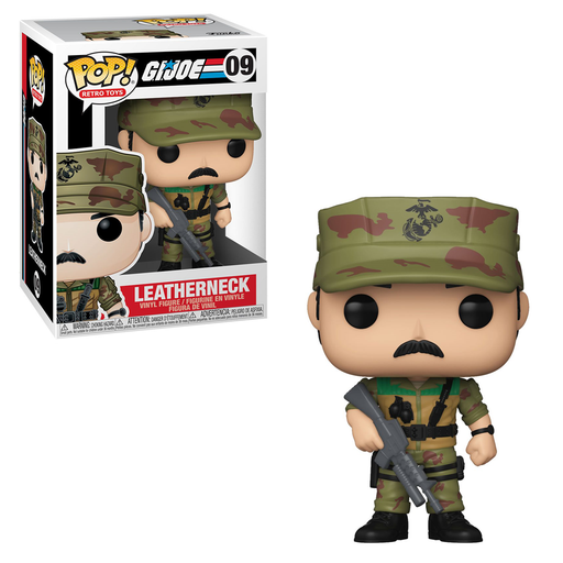 Funko POP! G.I. Joe - Leatherneck Vinyl Figure #9