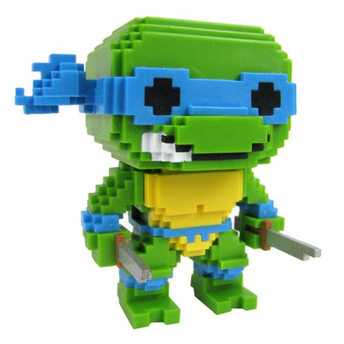 Funko POP! Teenage Mutant Ninja Turtles - Leonardo 8-Bit Vinyl Figure #04