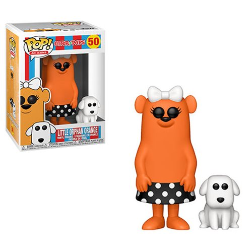 Funko POP! Ad Icons: Otter Pops - Little Orphan Orange Vinyl Figure #50